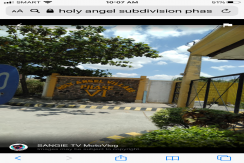 LOT FOR SALE IN HOLY ANGEL VILLAGE PHASE 6, ANGELES CITY